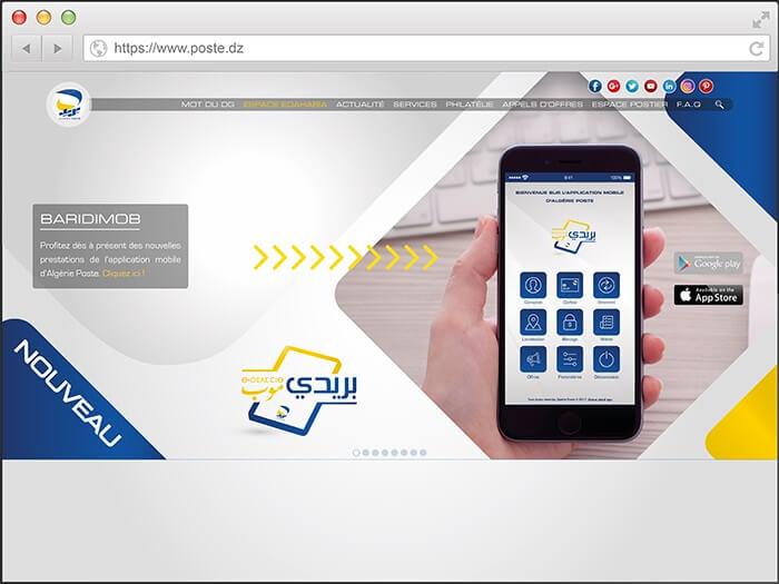 Carte Or Algerie Poste.Algerie Poste Lance Baridimob Une Application Multiservices